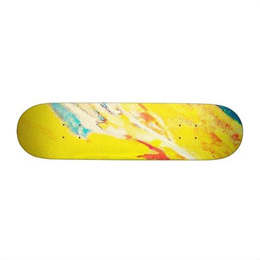 Abstract Art Custom Skate Board