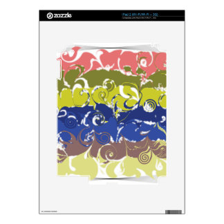Abstract Art iPad 2 Decals