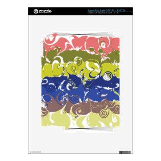 Abstract Art iPad 3 Decal