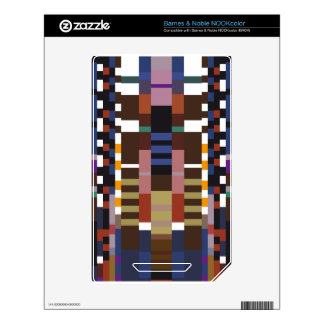 Abstract Art NOOK Color Skins