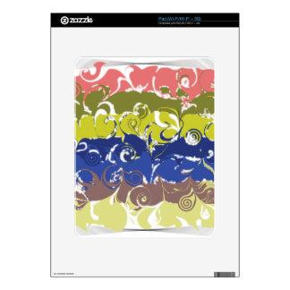 Abstract Art iPad Decals