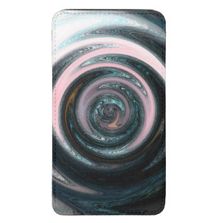abstract art smartphone pouch