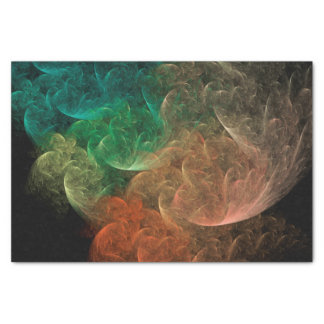 Abstract Art Space Bird Tissue Paper