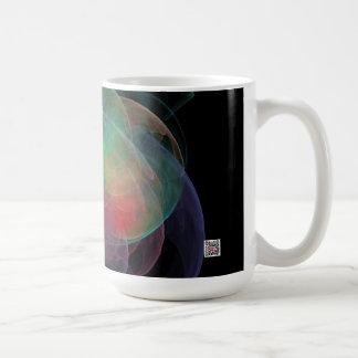 Abstract Art Space Shell Coffee Mug