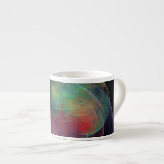 Abstract Art Space Shell Espresso Cup