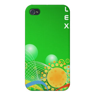 Abstract Art: Spheres & Sun -  iPhone 4/4S Cover
