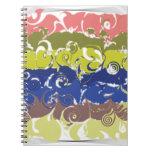 Abstract Art Spiral Notebooks