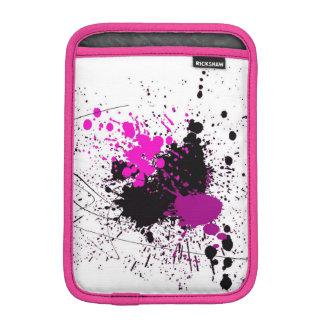 Abstract Art Splash Pink iPad Mini Vertical Sleeve iPad Mini Sleeve
