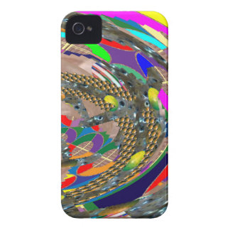 Abstract ART: STADIUM Arena Exhibition Grounds FUN iPhone 4 Case-Mate Case