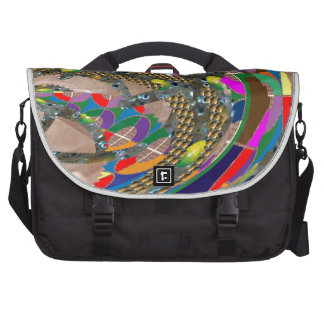Abstract ART: STADIUM Arena Exhibition Grounds FUN Bag For Laptop