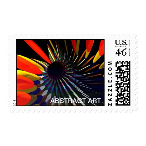 Abstract Art stamp