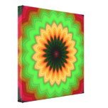 ABSTRACT ART STRETCHED CANVAS PRINT