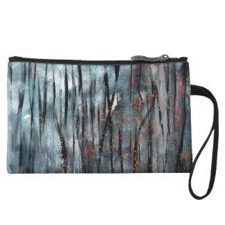 Abstract Art - Suffocate Wristlet Wallet