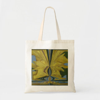 Abstract Art Sunflower Painting Bag