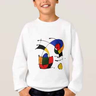 abstract art surrealism sweatshirt