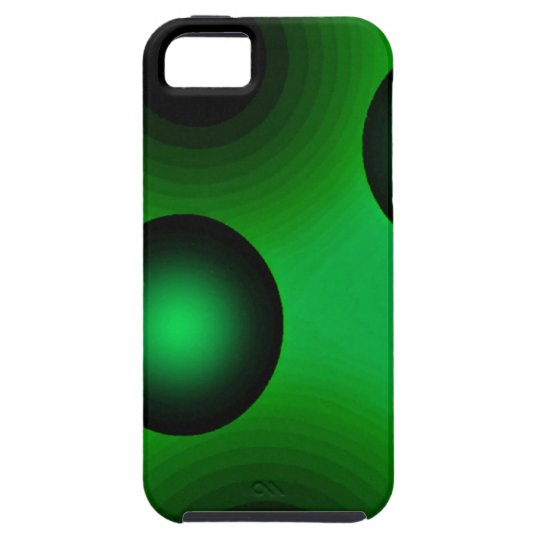 Abstract Art Suspension Green iPhone SE/5/5s Case