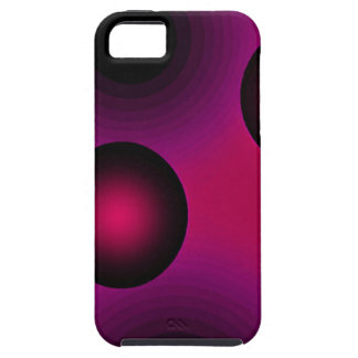 Abstract Art Suspension Purple iPhone SE/5/5s Case