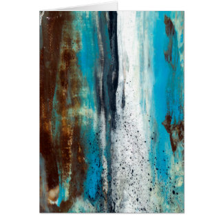 Abstract Art Touch of Clarity Card