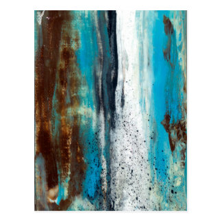 Abstract Art Touch of Clarity Postcard