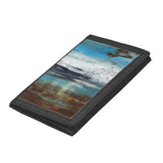 Abstract Art Touch of Clarity Trifold Wallet