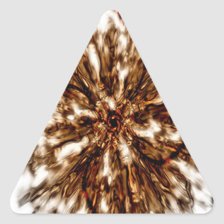 Abstract Art Triangle Sticker