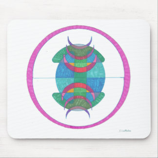 Abstract Art Tribal Mouse Pad