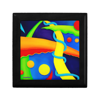 Abstract Art Trinket Box