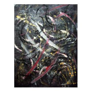 Abstract Art - Ultionis Postcard
