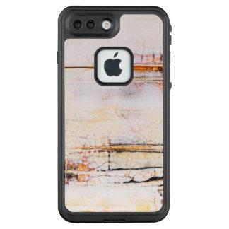 Abstract art unique surface design LifeProof FRĒ iPhone 7 plus case