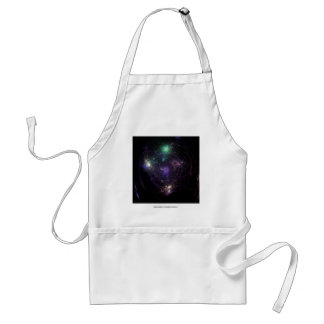 Abstract Art Universe Adult Apron