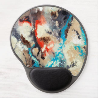 Abstract Art - Upstream Gel Mouse Pad