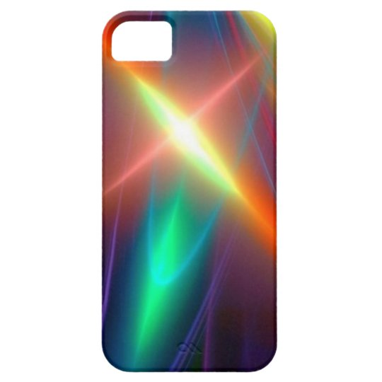 abstract art v24 iPhone SE/5/5s case