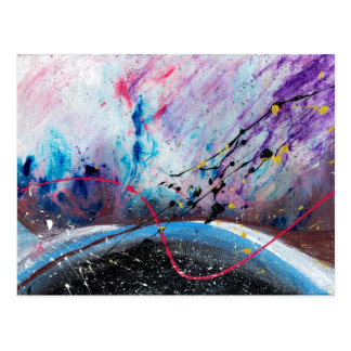 Abstract Art - Vale Postcard