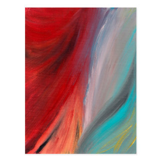 Abstract Art - Venefirous Postcard