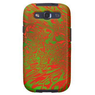Abstract Art Warped Samsung Galaxy S3 Cover