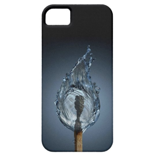 Abstract Art ( Water Flame ) Iphone 4 Case