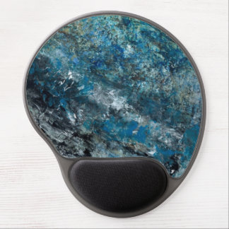 Abstract Art - Weightlessness Gel Mouse Pad