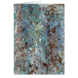 Abstract Art - Wild Growth Card