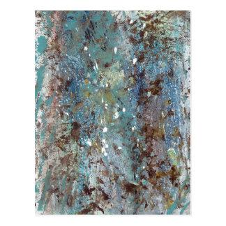 Abstract Art - Wild Growth Postcard