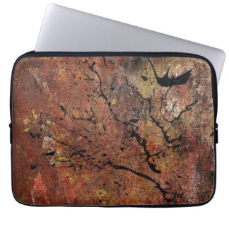 Abstract Art - Wildfire Laptop Sleeve