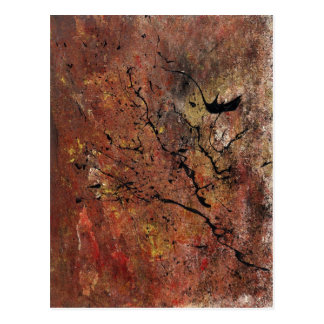 Abstract Art - Wildfire Postcard