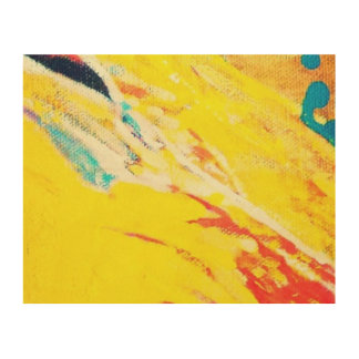 Abstract Art Wood Canvases