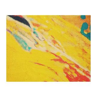 Abstract Art Wood Prints