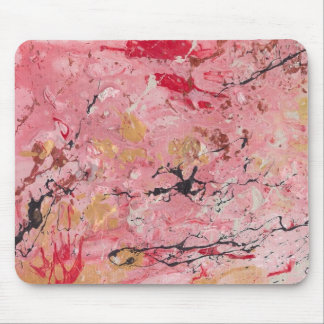 Abstract Art - World On Fire Mouse Pad