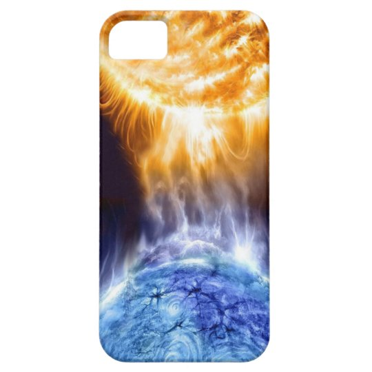 Abstract Art ( Worlds Collide ) Iphone 4 Case