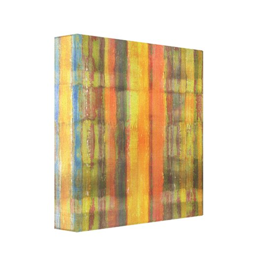 Abstract Art Wrapped Canvas Print