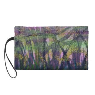 Abstract Art Wristlet Bag