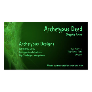 Abstract Artistic Business Card