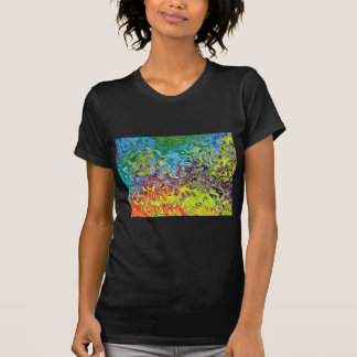 abstract artistic colorful design T-Shirt