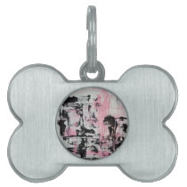 Abstract Artistic Furbaby Tag